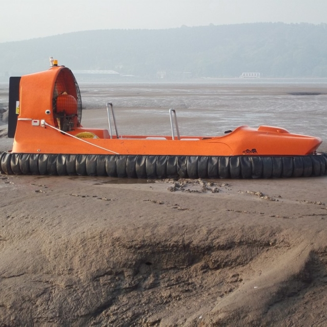 Hovercrafts and GoPros – the survey team have been out again Image