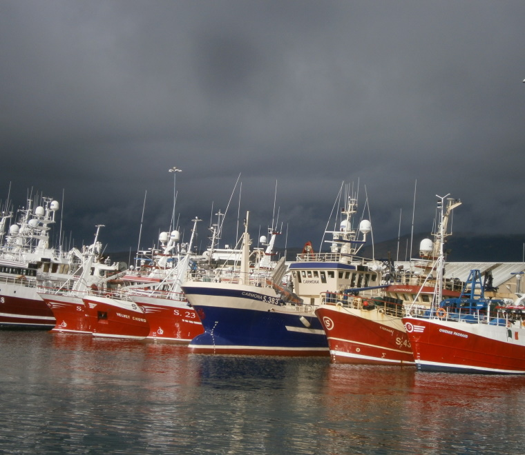 Fishing vessels in Ireland