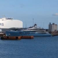 Superyacht Aviva, our temporary neighbour – in numbers Image