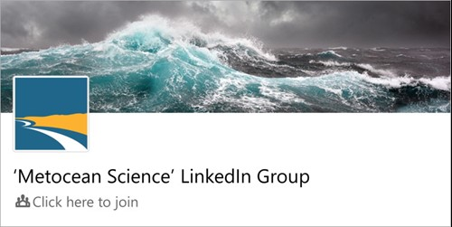 Join the Metocean Science LinkedIn group