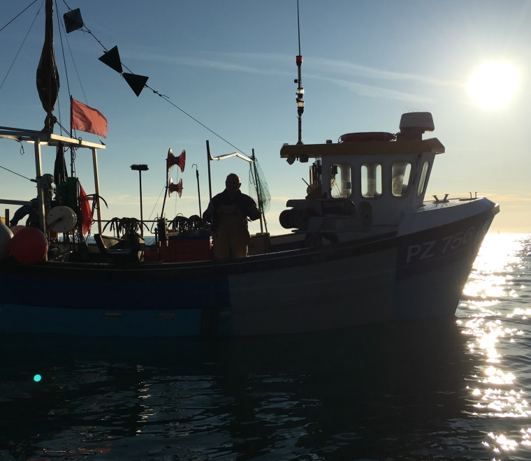 Fishing vessel crew