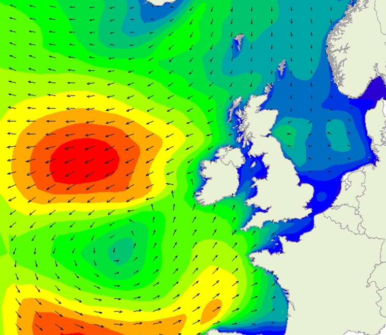 SEASTATES wave forecast